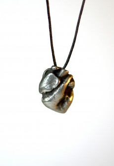 """Necklace """"Anatomical Heart"""" by Perry Gargano"""