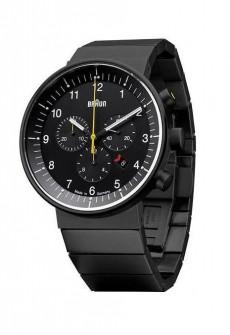 Braun Prestige BN00095 Black Stainless Wristwatch