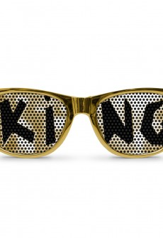 KING Gold Wayfarer by Eyepster
