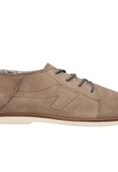 Le Fronck Brown Leather Oxford by The People's Movement