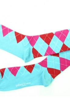 Gallant & Beau Westminster Blue Socks