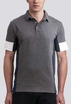 Number Lab Colorblock Polo