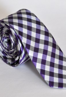 Riddle Me Purple by Skinny Tie Madness
