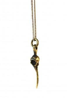 """Necklace """"Hummingbird Skull"""" by Perry Gargano"""