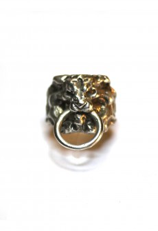 "Ring ""Lion Knocker"" by Perry Gargano"