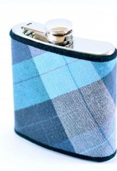 Plaid Flask by Keelan Rogue