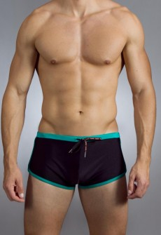 Outlines-Block Trunk Swimwear by Baskit (More Colors)