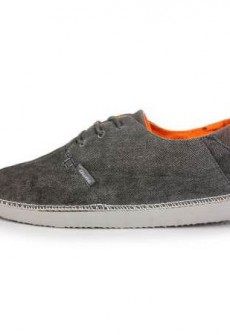 Brunico Charcoal Shoe by Hey Dude
