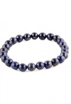 Karma Mantra Lapis Lazuli Stretch Bracelet