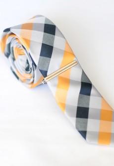 Waffle Mix Necktie by Skinny Tie Madness