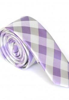 Riddle Me Purple Necktie by Skinny Tie Madness