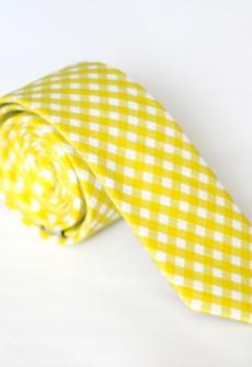 Colonel Mustard Necktie by Skinny Tie Madness