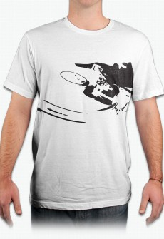 Turntable Organic Tee by Henry James