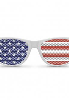 Country Flag Wayfarer by Eyepster (More Countries)