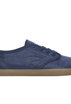 Marcos Navy/Gum Canvas Sneaker by The People's Movement