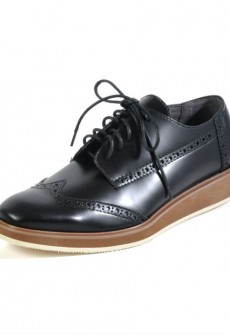 ALL BLACK by ACL Black Wing Shoe