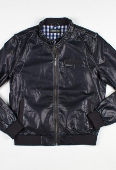 Members Only Faux Leather Iconic Racer