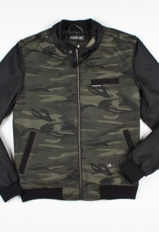 Members Only Camo Racer Jacket