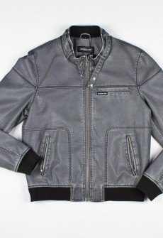 Members Only Distressed Bomber Jacket