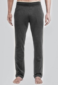 Number Lab Piped Jersey Pant in Charcoal