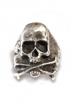 Perry Gargano Skull and Bones Ring