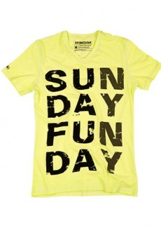 Sun Day Fun Day V Neck