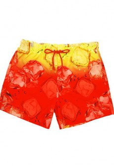 Tequila Sunrise Swim Trunks