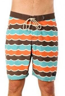 Swell Board Short Brown